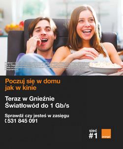 Orange reklama